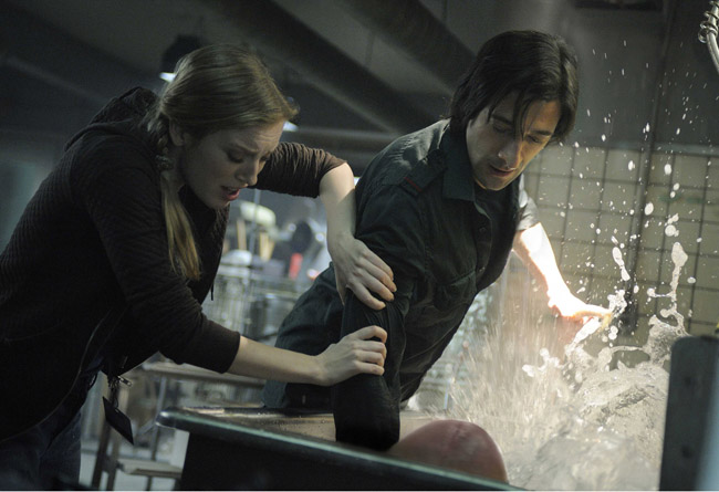 Don't Mess with Mother Nature: Sarah Polley as Elsa and Adrien Brody as Clive in 'Splice'