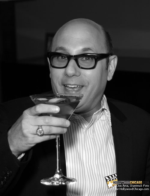 Raising a Glass to the Gals: Willie Garson (Stanford Blatch) in Chicago, May 27th, for 'Sex and the City 2'