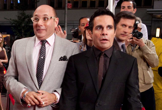 Betrothed: Willie Garson as Stanford and Mario Catone as Anthony in 'Sex and the City 2'