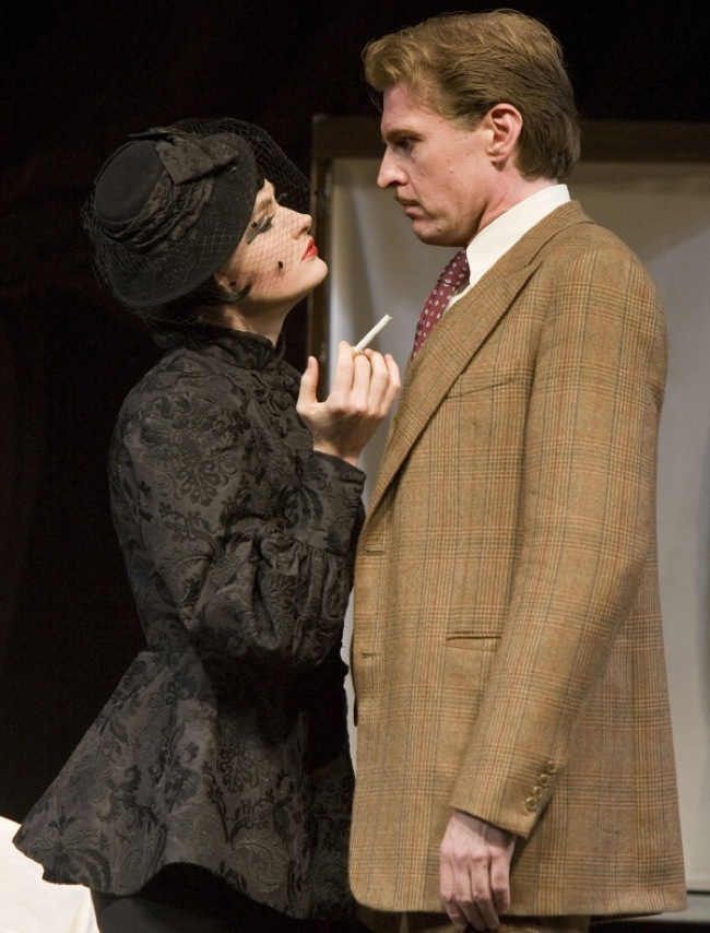 "Claire Brownell and Ted Deasy star in ""The 39 Steps"""" target="