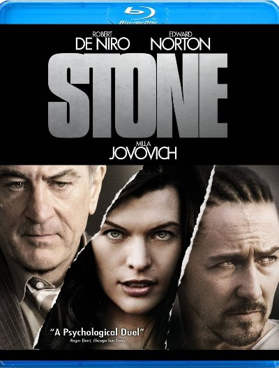 Stone was released on Blu-Ray and DVD on January 18th, 2011