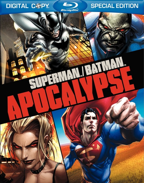 Superman/Batman: Apocalypse was released on Blu-ray and DVD on September 28th, 2010
