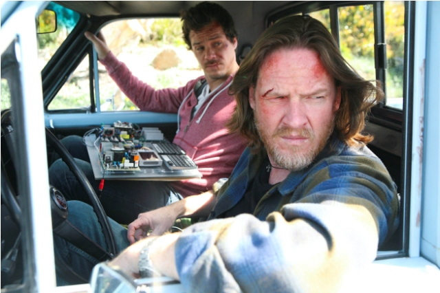Donal Logue as Hank Dolworth and Michael Raymond-James as Britt Pollack