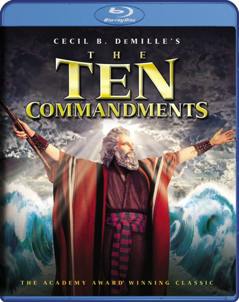 The Ten Commandments was released on Blu-Ray and DVD on March 29th, 2011