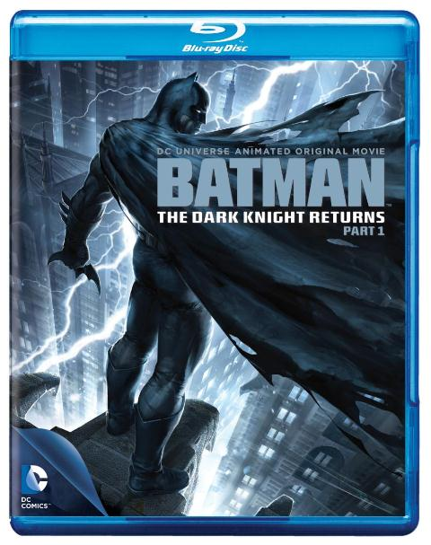 Batman: The Dark Knight Returns -- Part 1 was released on Blu-ray and DVD on September 25, 2012