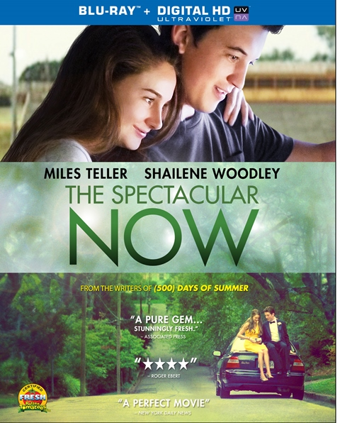 The Spectacular Now was released on Blu-ray and DVD on January 14, 2014
