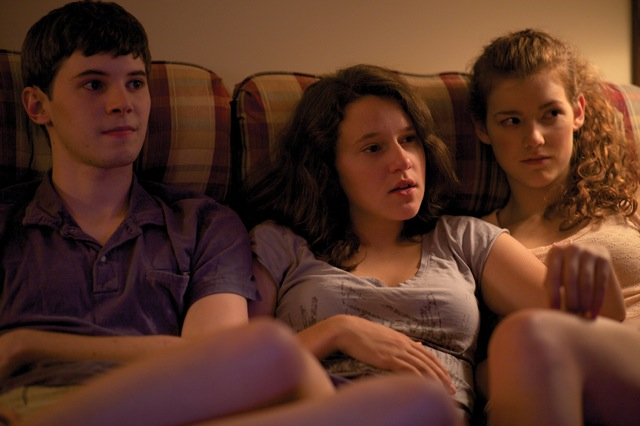 Tyler Ross, Allison Torem and Molly Kunz star in Stephen Cone's The Wise Kids.