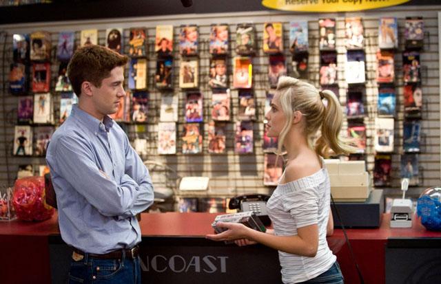 Rewind: Topher Grace (Matt) and Teresa Palmer (Tori) in 'Take Me Home Tonight'