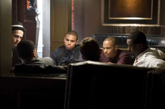 The Gang's All Here: Hayden Christensen, Chris Brown, T.I. and Idris Elba Make the Plan in 'Takers'