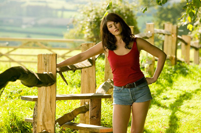 Over the Fence: Gemma Arteron as the Title Character in 'Tamara Drewe'
