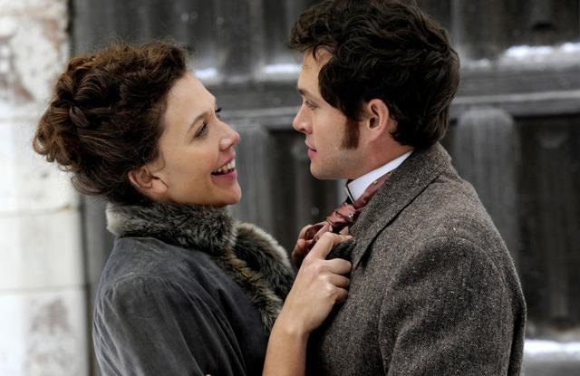Maggie Gyllenhaal and Hugh Dancy in 'Hysteria'