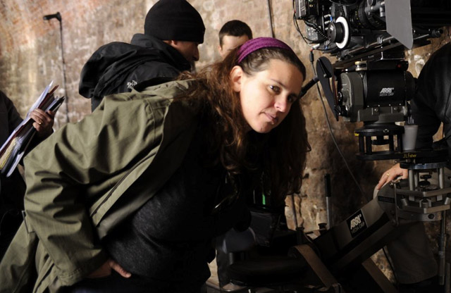 Director Tanya Wexler on Location During the Filming of 'Hysteria'