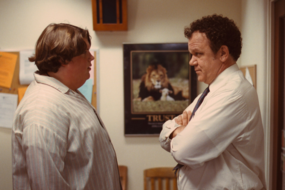 Jacob Wysocki and John C. Reilly star in Azazel Jacobs's Terri.