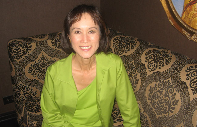 Tess Gerritsen, Author and Creator of the Characters Rizzoli and Isles, in Chicago on July 8th, 2010