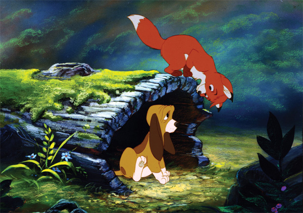 Corey Feldman and Keith Coogan voice the young versions of Copper and Tod in Ted Berman, Richard Rich and Art Stevens's 1981 film The Fox and the Hound.