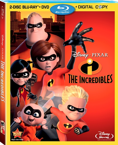 The Incredibles was released on Blu-Ray on April 12, 2011