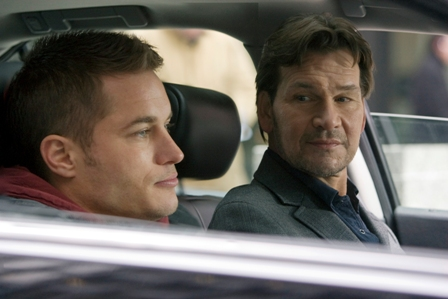 Patrick Swayze and Travis Fimmel in The Beast.
