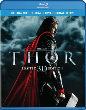 Thor was released on Blu-ray and DVD on September 13th, 2011