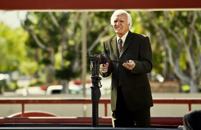 Robert Loggia in 'Tim and Eric's Billion Dollar Movie'