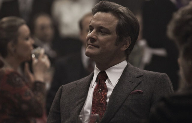 Tailor: Colin Firth as Haydon in 'Tinker, Tailor, Soldier, Spy'