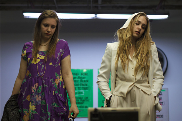 Girls Just Wanna Have: Lena Dunham and Jemima Kirke as Charlotte in 'Tiny Furniture'