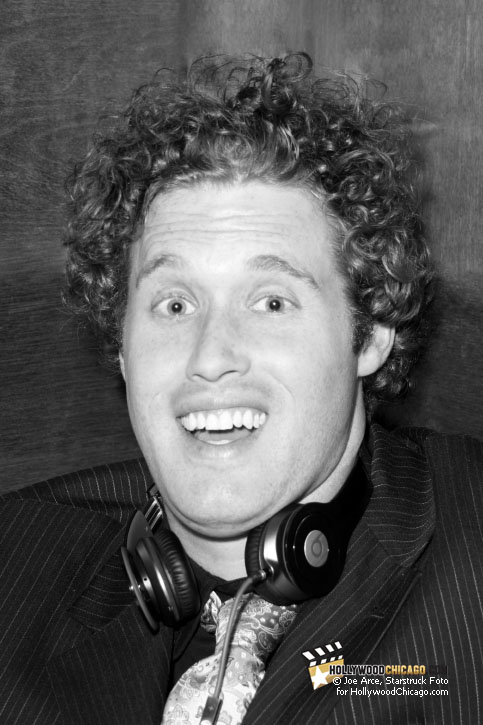 T.J. Miller in Chicago, May 12, 2011, Right Before his Sold-Out Show at the Lincoln Lounge