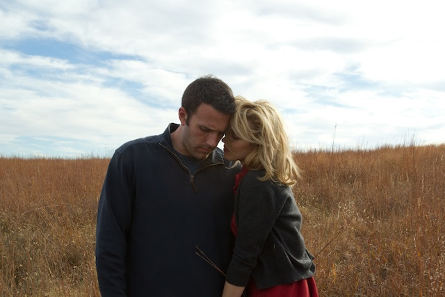 Ben Affleck and Rachel McAdams star in Terrence Malick's To the Wonder.