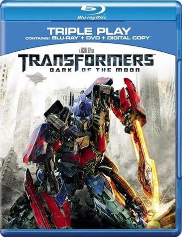 'Transformers: Dark of the Moon' on Blu-ray