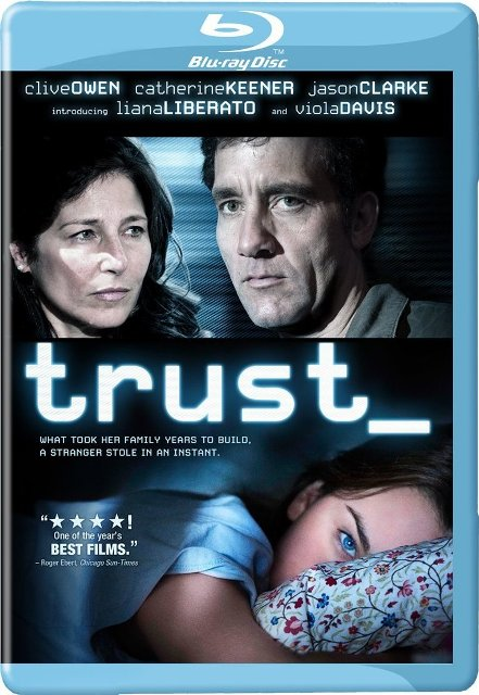 Trust was released on Blu-Ray and DVD on July 26th, 2011