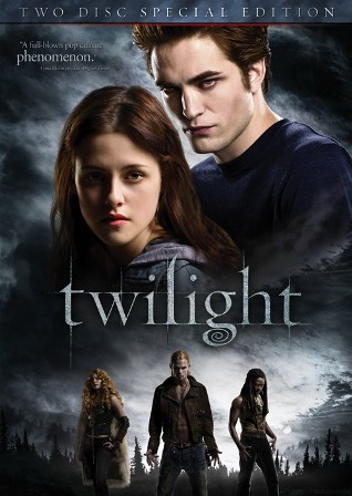 Twilight will be released on DVD on March 21st, 2009.