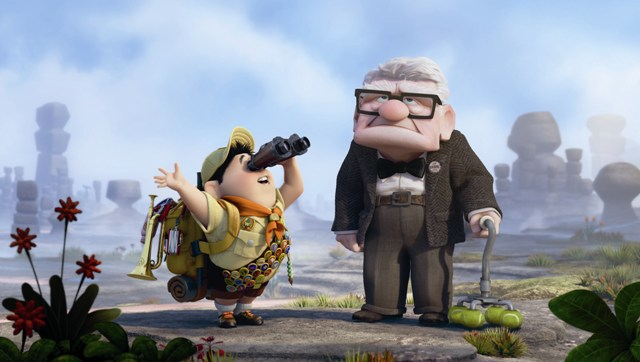 Up was released on Blu-Ray and DVD on November 10th, 2009.