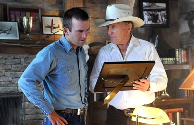 Picture This: Lucas Black as Luke and Robert Duvall as Johnny in 'Seven Days in Utopia'
