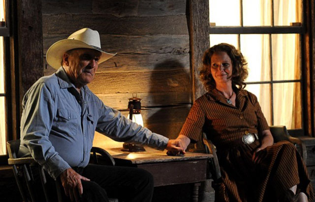 Dreams of Oscar Past: Robert Duvall and Melissa Leo as Lily in 'Seven Days in Utopia'