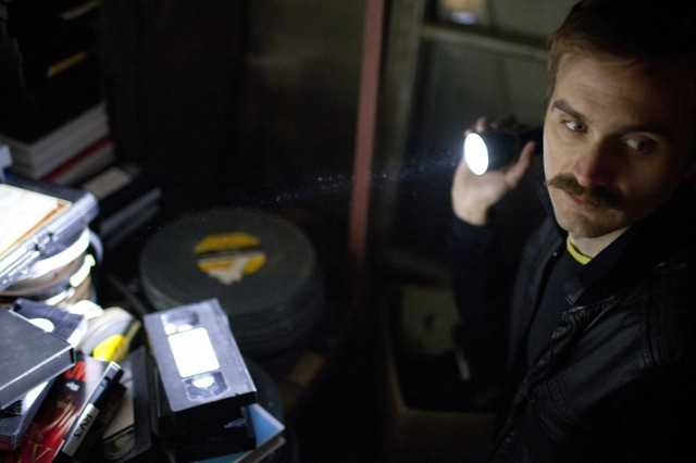 Calvin Reeder stars in Adam Wingard's 'Tape 56' in V/H/S, a Magnet Release.