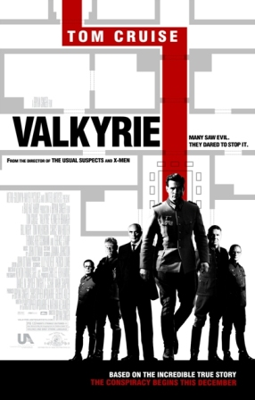 Valkyrie opens from United Artists on December 25, 2008.