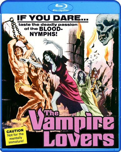 The Vampire Lovers was released on Blu-ray on April 30, 2013