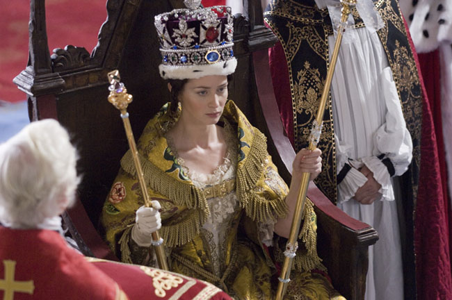 She is Not Amused: Emily Blunt Gets Crowned as the Title Character in 'The Young Victoria'