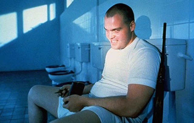 Vincent D'Onofrio as Pvt. Leonard 'Gomer Pyle' Lawrence in Stanley Kubrick's 'Full Metal Jacket'
