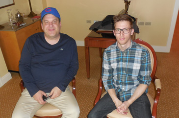 Jeff Garlin, John Maloof