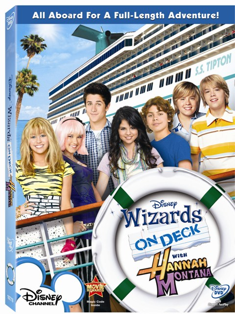 Wizards On Deck With Hannah Montana was released on DVD on September 22nd, 2009.