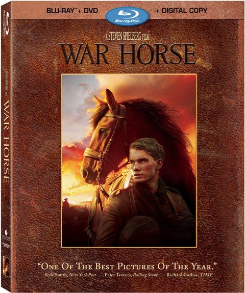 War Horse was released on Blu-ray and DVD on April 3, 2012