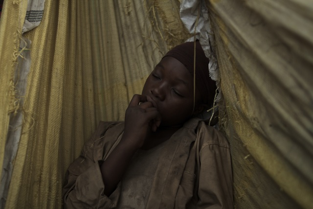 Rachel Mwanza as Komona in War Witch, distributed by Tribeca Film.