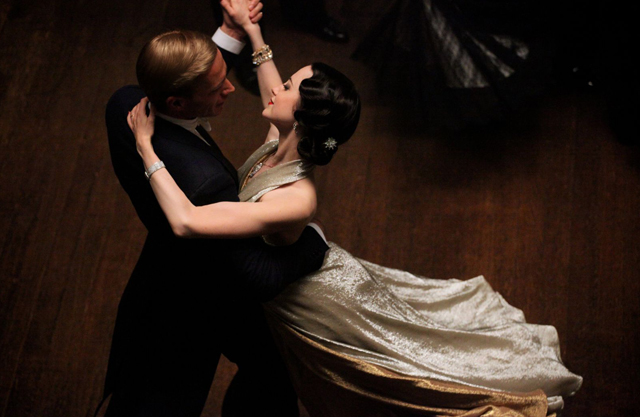 James D'Arcy (Edward Windsor) and Andrea Riseborough (Wallis Simpson) in 'W.E.'