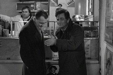 Peter Falk (right) in 'Wings of Desire'
