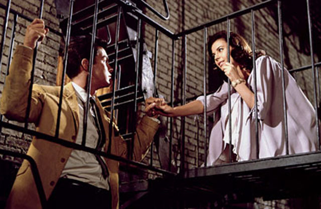 There's a Place: Tony (Richard Beymer) and Maria (Natalie Wood) in 'West Side Story'