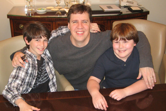 Another Diary Entry: Zachary Gordon, Author Jeff Kinney and Robert Capron in Chicago, March 11th, 2010
