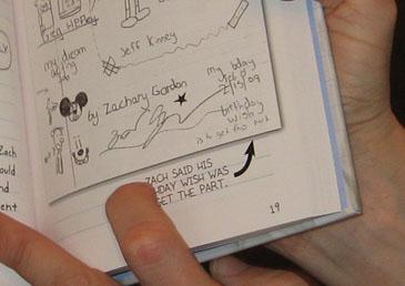 Jeff Kinney Points Out Zachary Gordon's Wishful Mickey Mouse