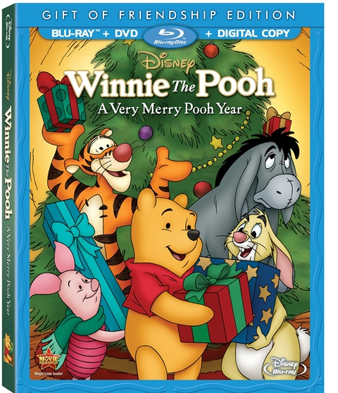 Winnie the Pooh: A Very Merry Pooh Year was released on Blu-ray and DVD on November 5, 2013
