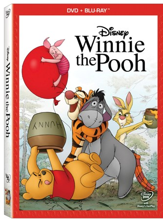 Winnie the Pooh was released on Blu-ray and DVD on October 25th, 2011
