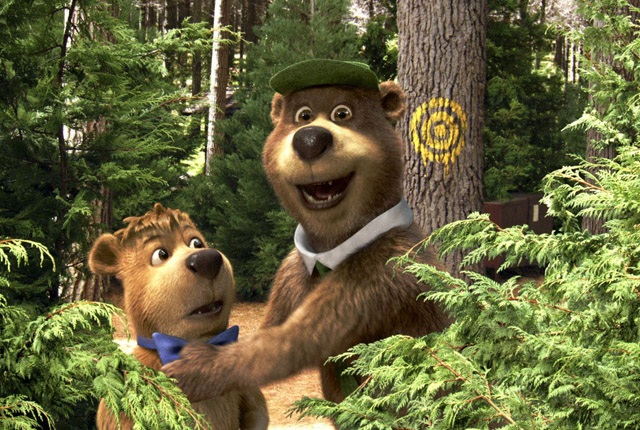 Smarter Than the Average Target Audience: Boo Boo (Justin Timberlake) and Yogi (Dan Aykroyd) in 'Yogi Bear'